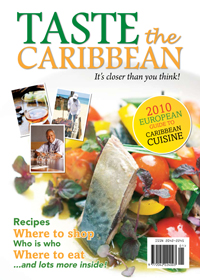 Taste The Caribbean  - 2010 European Guide to Caribbean Cuisine DEMO EDITION
